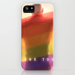 Shiro pride flag iPhone Case