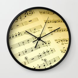 Orchestral Wall Clock