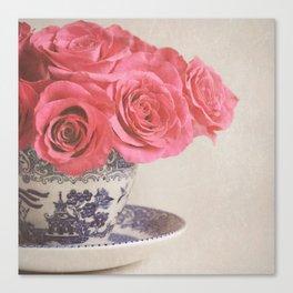 Rose Tea. Canvas Print