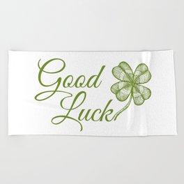 Good luck! Beach Towel