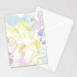 Rainbows Penelope Stationery Cards