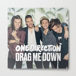 1D Drag me down Metal Print