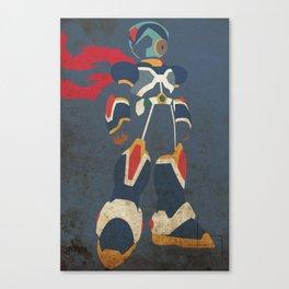 Megaman X Canvas Print