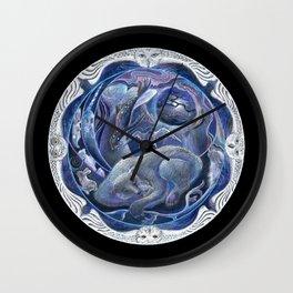 Bear Dreams Wall Clock