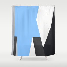 Memorial in Berlin - Abstract Minimalist Photography Art Print Shower Curtain