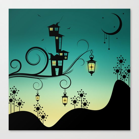 Good Night Little One. Canvas Print