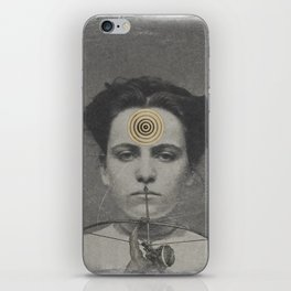 Circling the Square iPhone Skin