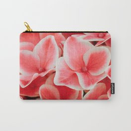 Red Hydrangea Carry-All Pouch