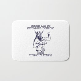 Viking Nordic Beer Drinking Party Valhalla Gift Bath Mat