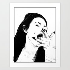 asc 541 - L'appropriation (You are mine) Art Print