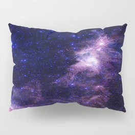 gAlAXY Purple Blue Pillow Sham