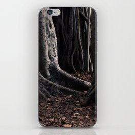 Spooky Winter Trees iPhone Skin