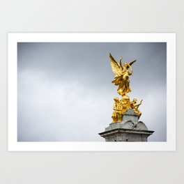 Victoria Monument Art Print