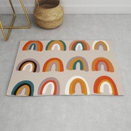 Rainbow Paint Rolls – Retro Rug