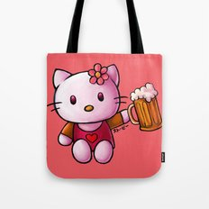 Kitty-chan Tote Bag