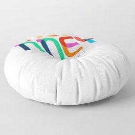 Mckinney Texas Mid Century, Pop Art, Floor Pillow