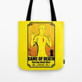 Game of Death Glenn Tote Bag