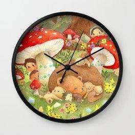 Forest Fantasy Wall Clock