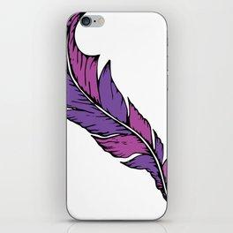 Boho Feather iPhone Skin