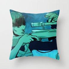 Don't Breathe Throw Pillow