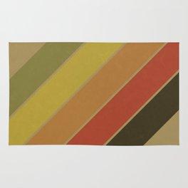 Retro Circus Color Palette Rug