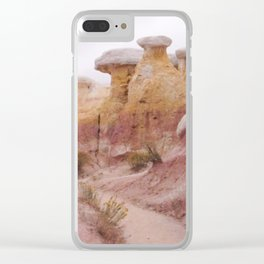 badlands Clear iPhone Case
