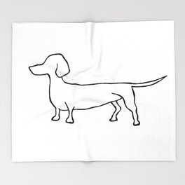 Doxie Throw Blanket