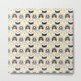 Round animal Metal Print