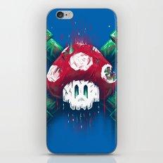 Mushroom Skull iPhone Skin