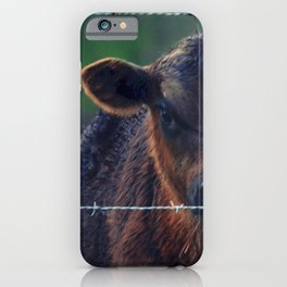 Moo Cow II iPhone Case
