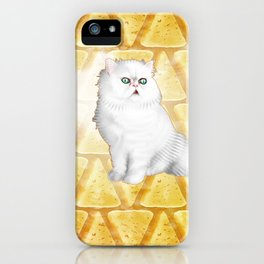Manchego of Vhamster iPhone Case