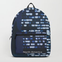 New York City Retro Travel Poster Backpack