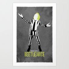 Beetlejuice  Art Print