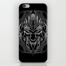 Pinstripe Megatron iPhone Skin