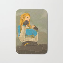 Princess Zelda - BotW Bath Mat