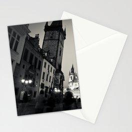 The Orloj: Prague, Czech Republic.  Stationery Cards