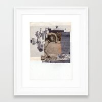 alt j Framed Art Prints featuring J. by Mehmet Gemalmaz