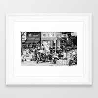 seoul Framed Art Prints featuring Everyday Seoul by Jennifer Stinson