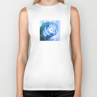 cup Biker Tanks featuring Cup by ONEDAY+GRAPHIC