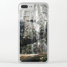 Waterfall 1 Clear iPhone Case