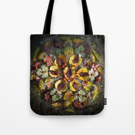 Nature Mandala: October 1 Tote Bag