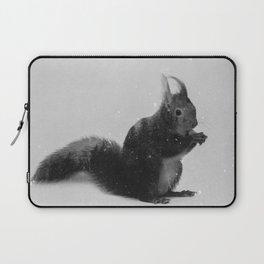 Squirrel (B&W) Laptop Sleeve