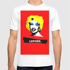 Amanda Lepore x Marilyn Monroe. MEDIUM Mens Fitted Tee White