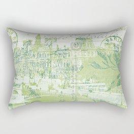springtime in Paris Rectangular Pillow