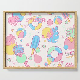 Summer Vibes Serving Tray