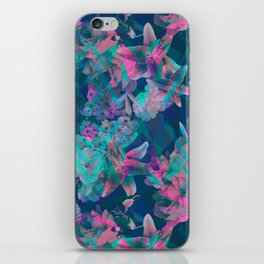 Geometric Floral iPhone Skin