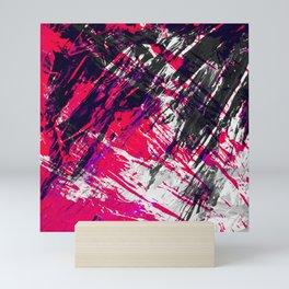 Urban Layers Scraping Mini Art Print