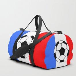 France Foot Duffle Bag