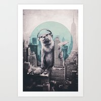 dj Art Prints featuring DJ by Ali GULEC