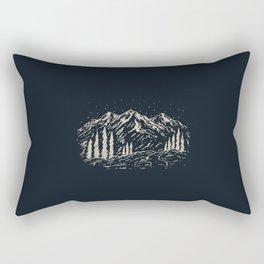 Mounain Forest Rectangular Pillow